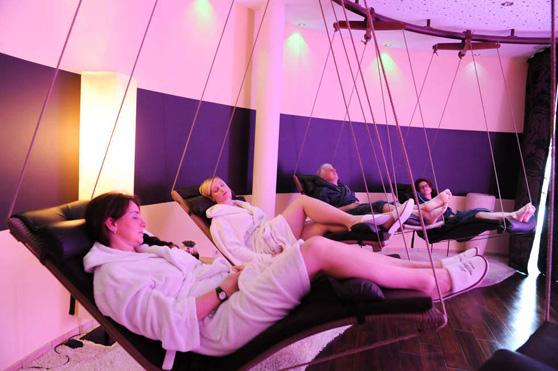 Licht und Klangraum im Romantischer Winkel Spa & Wellness Resort