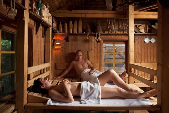 Bildquelle: Großzügige Saunalandschaft im Spreewelten Bad Lübbenau