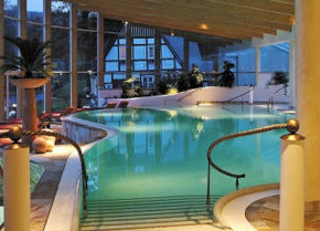 Blick in die Vital Oase im Deimann Romantik & Wellnesshotel