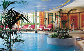 Wellnesslandschaft im Victor's Vital Resort